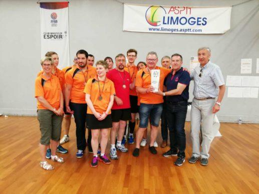 Champions Nationaux FSASPTT Badminton