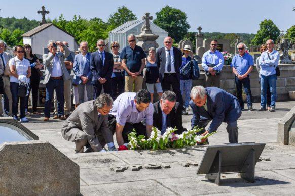 Hommage aux victimes d'Oradour-sur-Glane