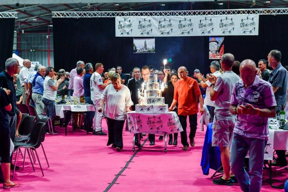 Gâteau 120 ans de sport by ASPTT