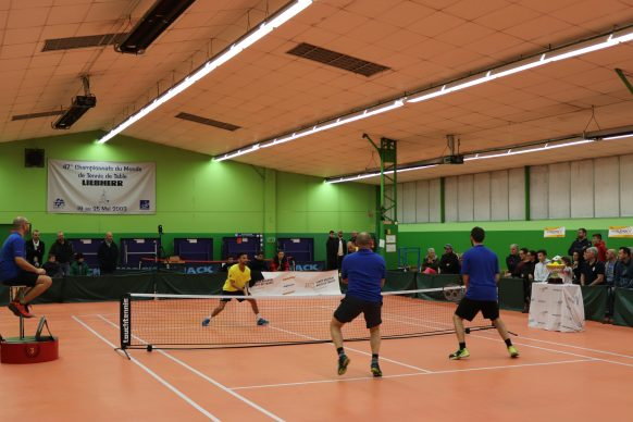 Match France Angleterre touchtennis ASPTT Soissons