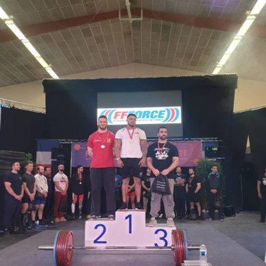 Clément Goudin Vice-Champion de France de Force athlétique