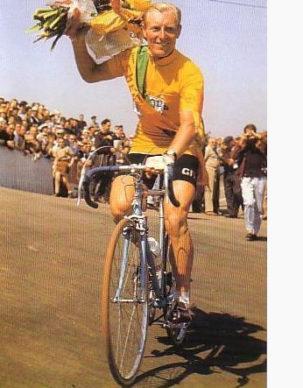 André Darrigade Maillot Jaune Tour de France