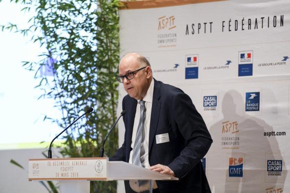 Gérald Brisebard, Trésorier Général de l'ASPTT Fédération Omnisports