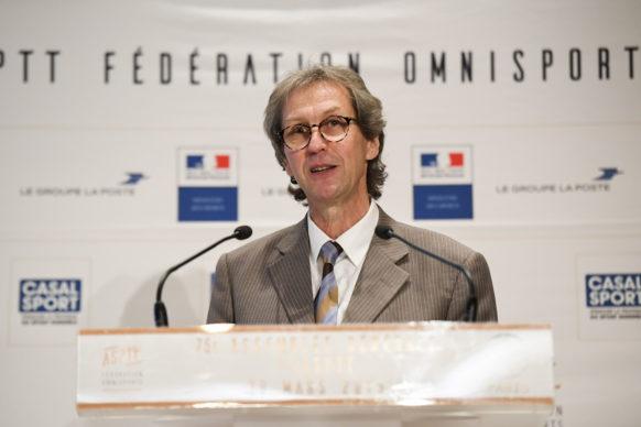 Michel Darcy Secrétaire Général de l'ASPTT Fédération Omnisports