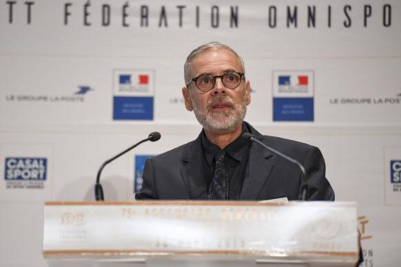 Pierre Hulin, Secrétaire Général Adjoint ASPTT Fédération Omnisports