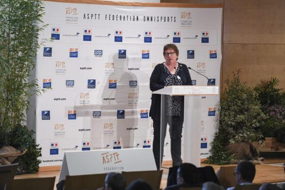Maud Bethouart Secrétaire Générale Adjointe en charge du projet Fédéral ASPTT Fédération Omnisports
