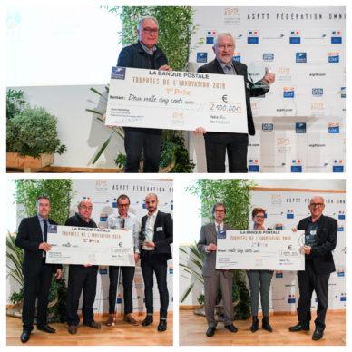 Trophée de l'innovation La Banque Postale ASPTT 2018