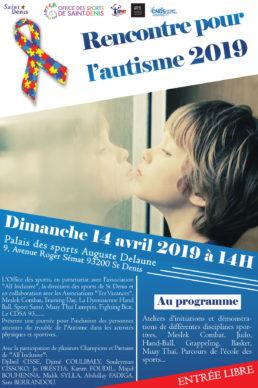 Affiche Rencontre pour l'autisme 2019
