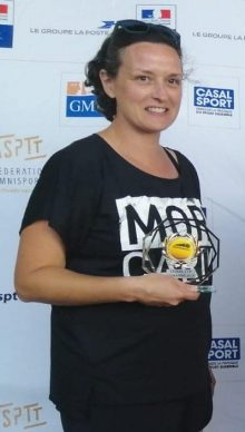 Cathy Quelin vainqueure du tournoi féminin