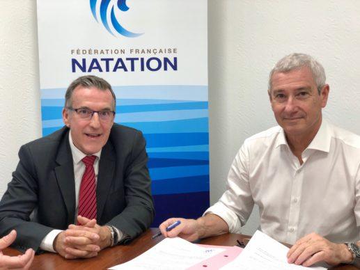 Signature du partenariat en la FSASPTT et la FFN