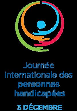Journée Internationale des Personnes Handicapées Logo