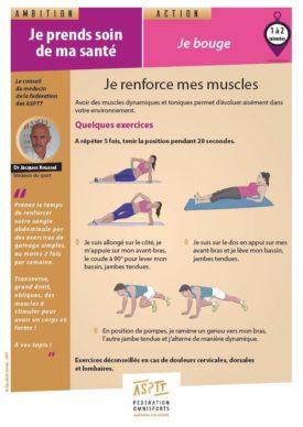 Santé_Je renforce mes muscles