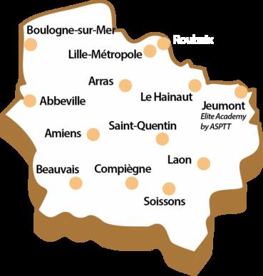 Clubs ASPTT Hauts de France