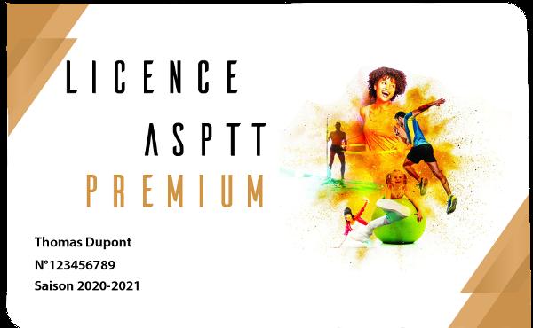 Licence ASPTT PREMIUM 2020-2021